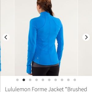 Lululemon Athletica | Forme Jacket Brushed